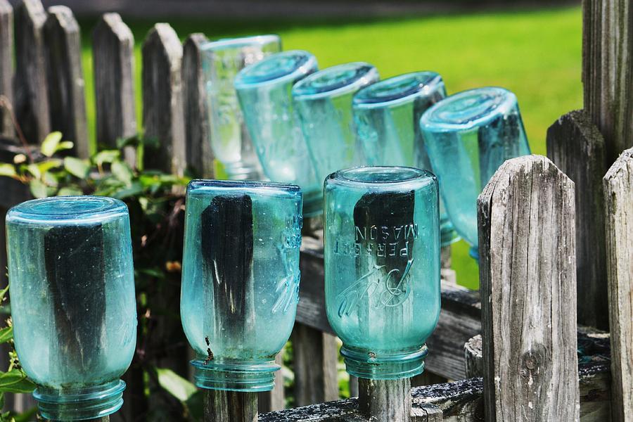 Amish Fence Photograph