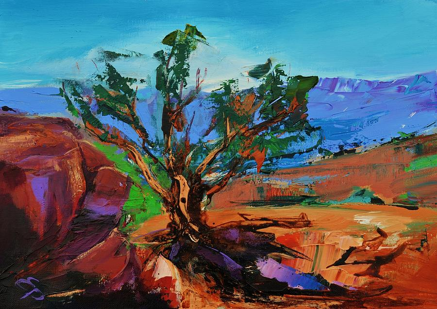 Among The Red Rocks - Arizona Painting