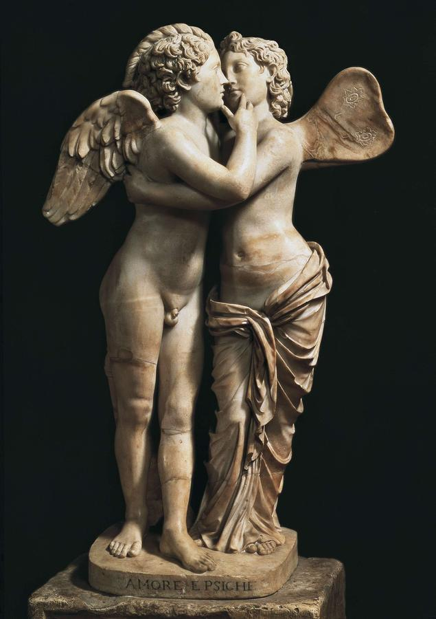 Vertical Photograph - Amor And Psyche. 1st C. Hellenistic by Everett