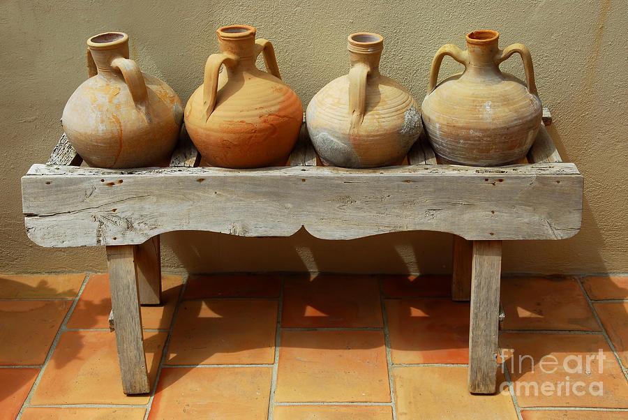House Photograph - Amphoras  by Elena Elisseeva
