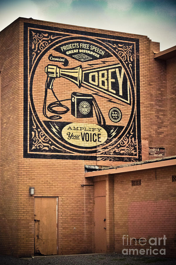 Amplify Your Voice Photograph