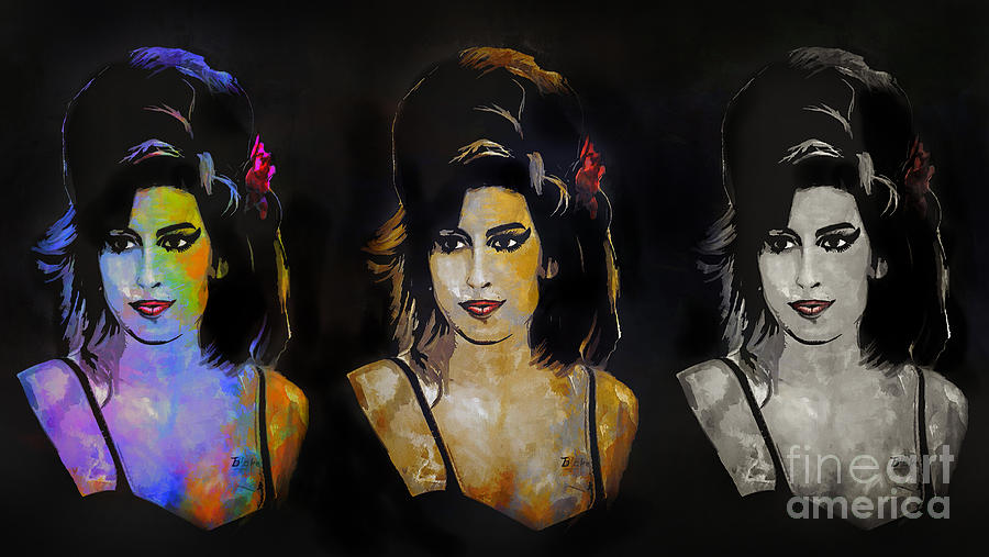 Amy Jade Winehouse Painting