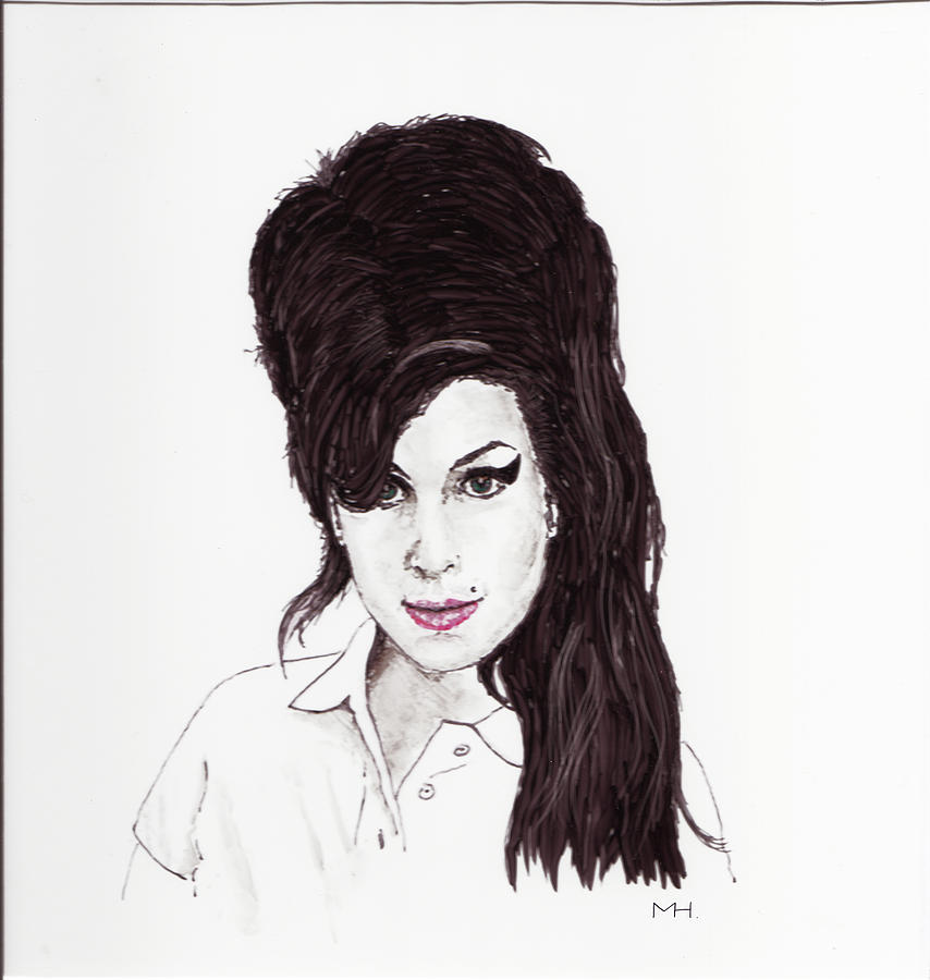 Amy Winehouse Drawing