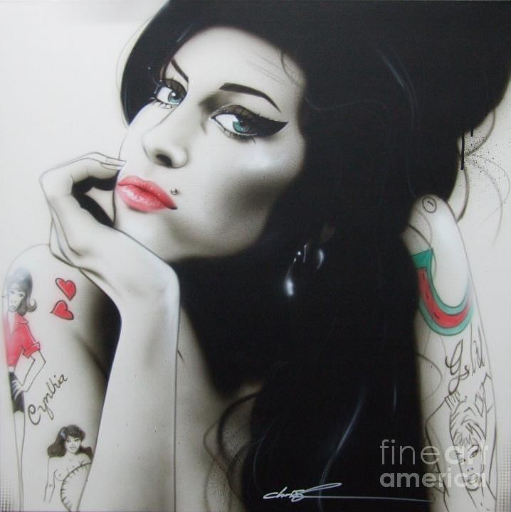amy Your Music Will Echo Forever Painting  - amy Your Music Will Echo Forever Fine Art Print