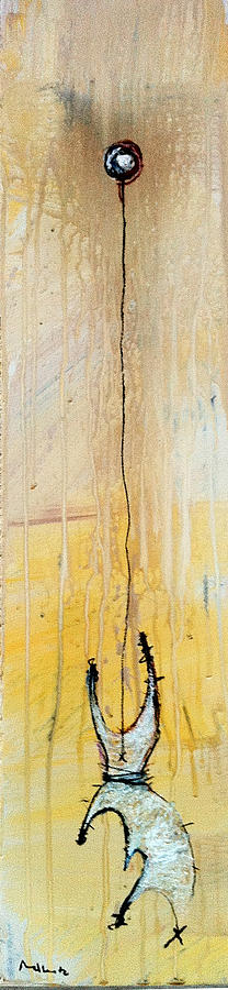 Abstract Painting - An Allegory Of Things Unknown 14 by Mark M  Mellon