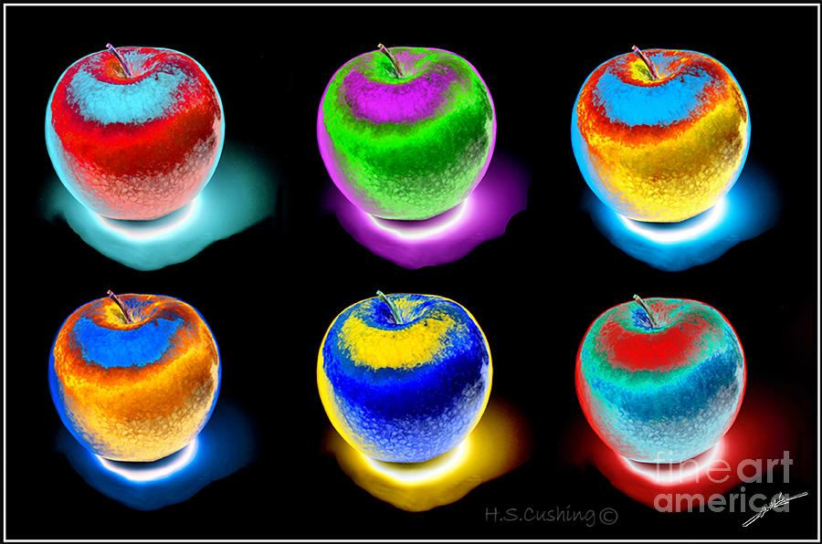 An Apple A Day Photograph  - An Apple A Day Fine Art Print