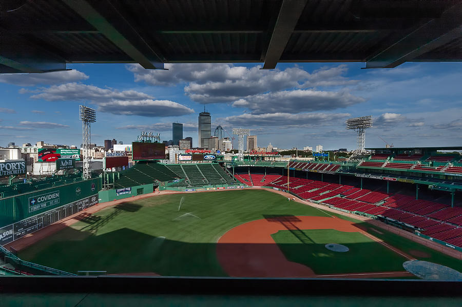 An Evening At Fenway Park Photograph By Tom Gort