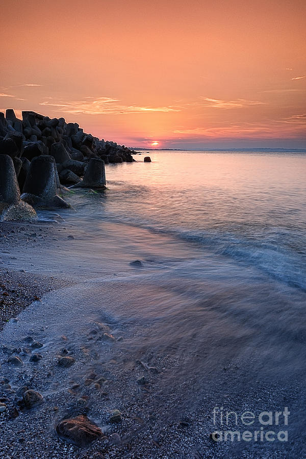 An Evening By The Sea Photograph