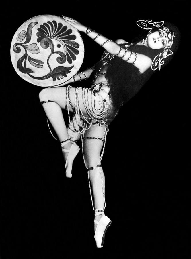 An Exotic Russian Dancer Photograph