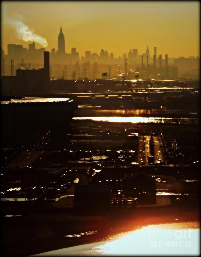 New York City Photograph - An Imposing Skyline by James Aiken