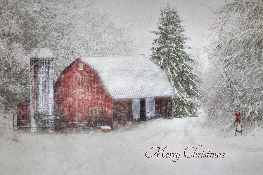An Old Fashioned Merry Christmas Photograph  - An Old Fashioned Merry Christmas Fine Art Print