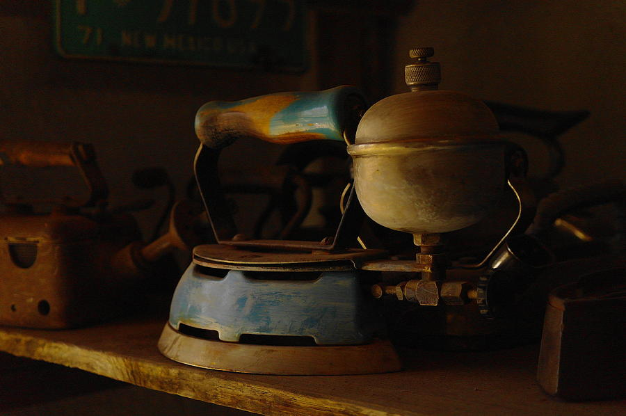 Old Steam Iron ~ An old steam iron photograph by jeff swan