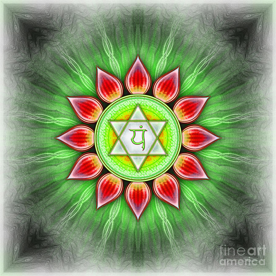 Anahata Chakra Series Iv Digital Art