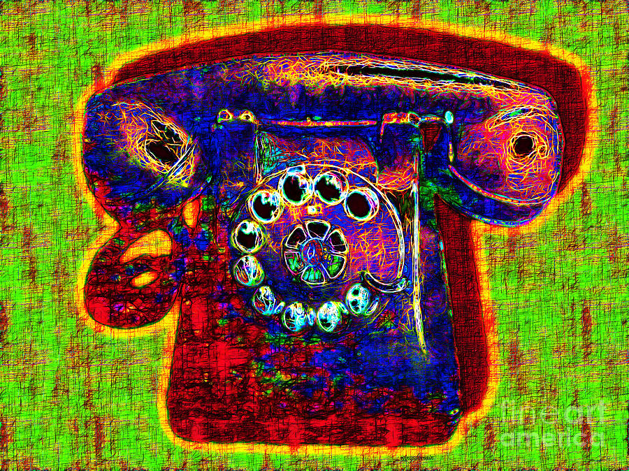 Analog A-phone - 2013-0121 - V2 Photograph  - Analog A-phone - 2013-0121 - V2 Fine Art Print