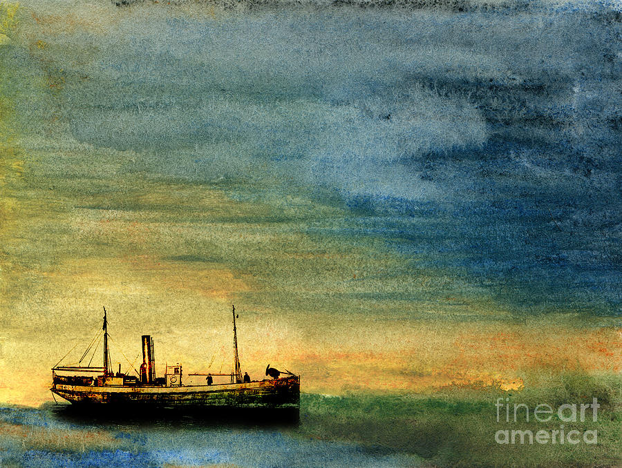Anchorage Painting  - Anchorage Fine Art Print