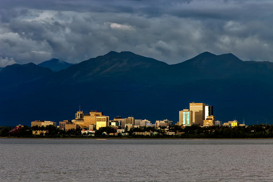 Anchorage Photograph  - Anchorage Fine Art Print