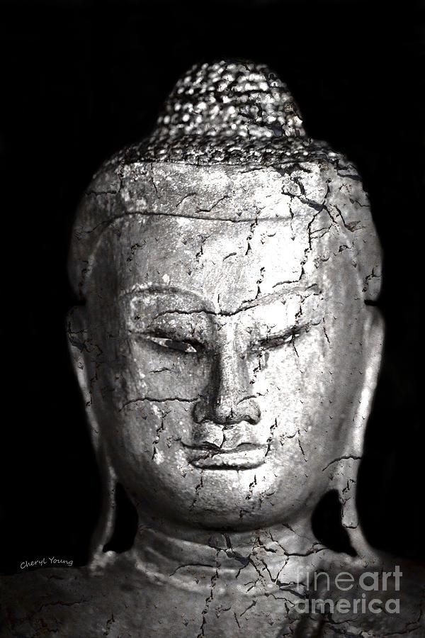 Buddha Photograph - Ancient Buddha by Cheryl Young