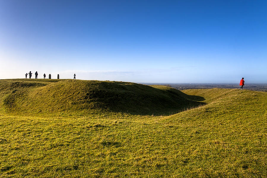 Hill Of Tara Photograph - Ancient Hill Of Tara In The Winter Sun by Mark Tisdale