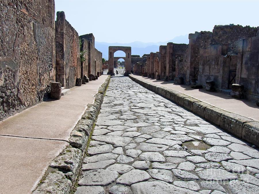 Ancient Street Photograph