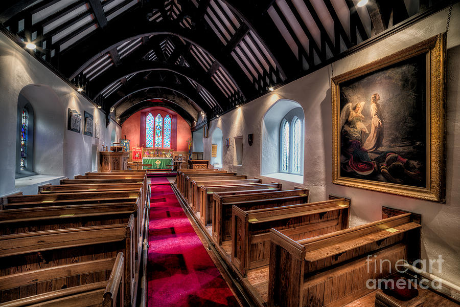 Ancient Welsh Church Photograph  - Ancient Welsh Church Fine Art Print