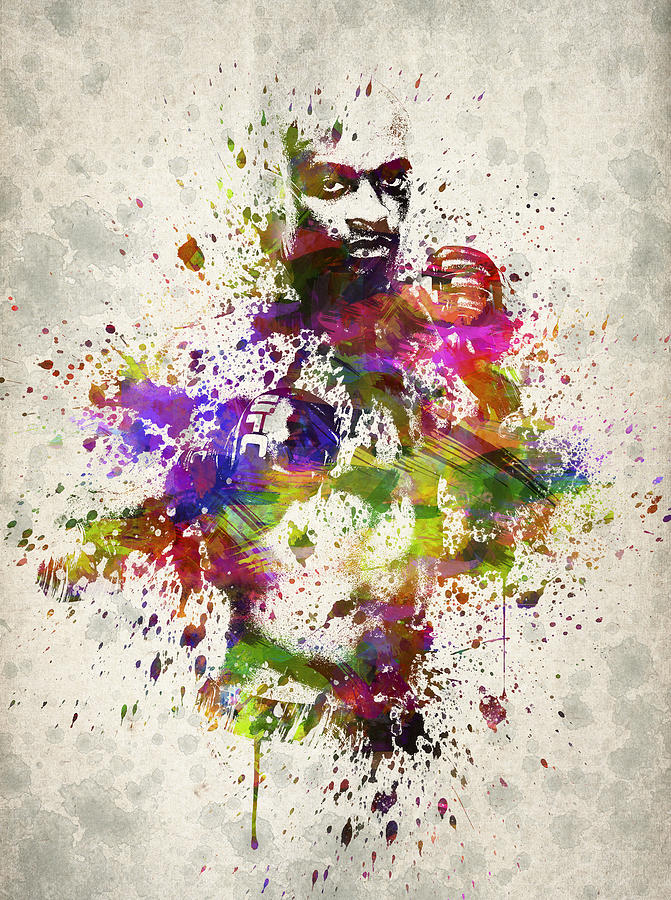 Anderson Silva Drawing - Anderson Silva by Aged Pixel