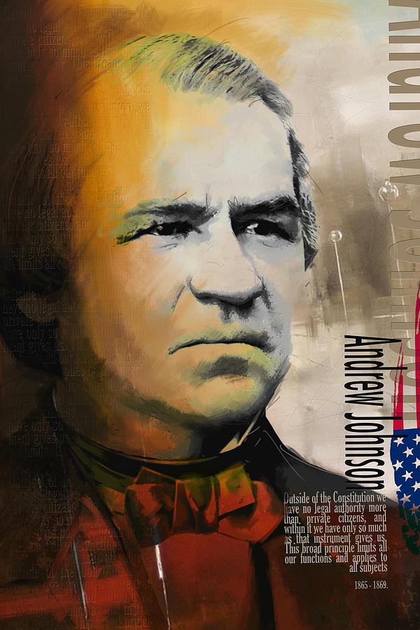 Andrew Johnson Painting