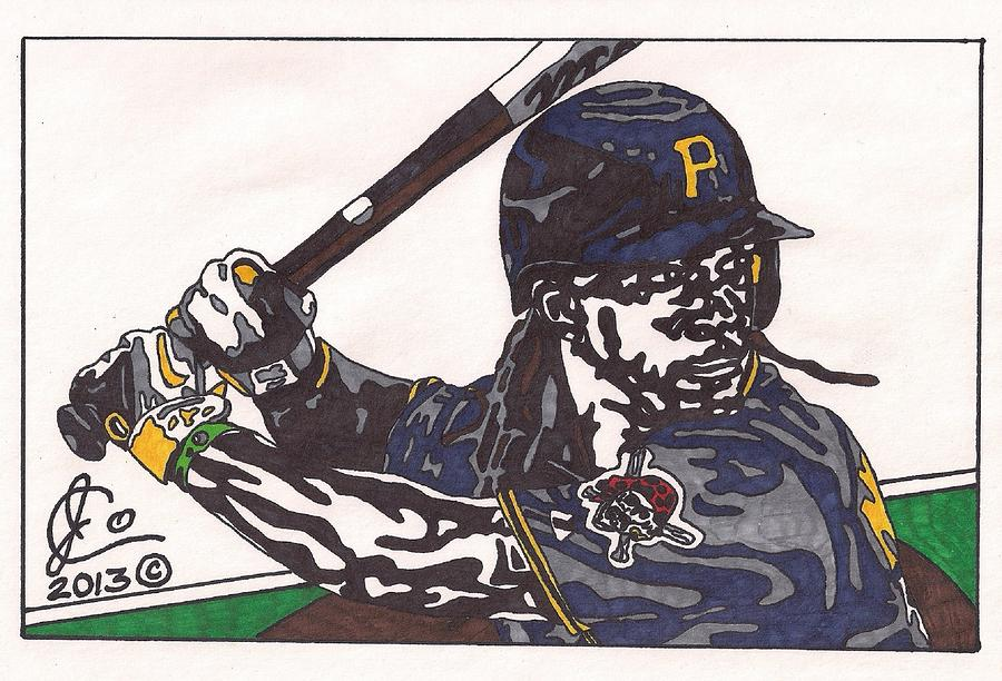 Andrew Mccutchen Drawing