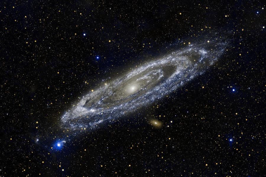 3scape Photos Photograph - Andromeda by Adam Romanowicz