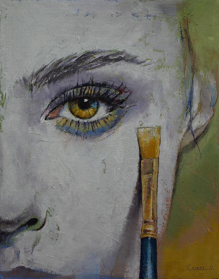 Andromeda Painting - Andromeda by Michael Creese
