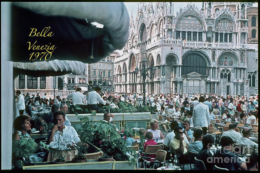 Andrzej . Il Poeta Innamorato Di Venezia.   Days Gone By Good Goin. Photograph