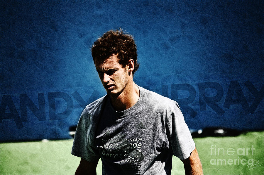 Andy Murray Photograph  - Andy Murray Fine Art Print