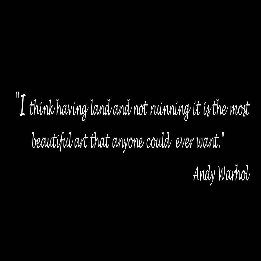 Andy Warhol Quote Digital Art by Carolyn Repka