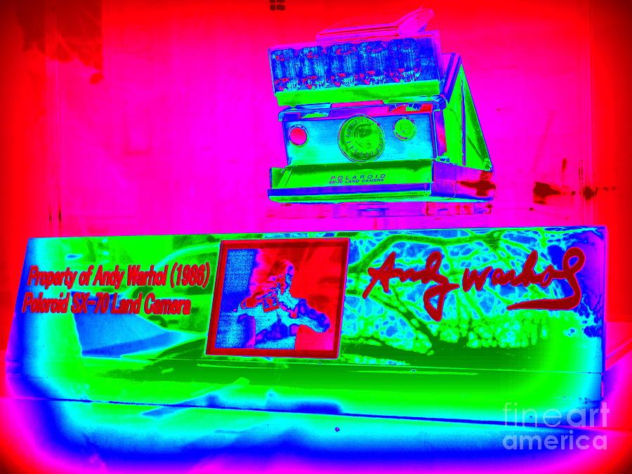 Andy Warhols Polaroid Photograph