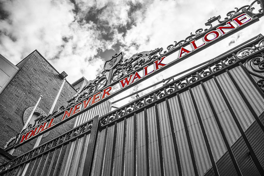 Anfield The Shankly Gates Photograph By Paul Madden