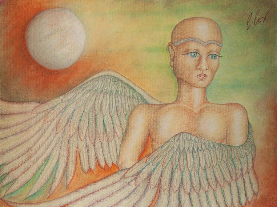 Angel Boy Painting