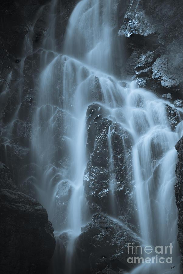 Waterfall Photograph - Angel Falls by Alana Ranney
