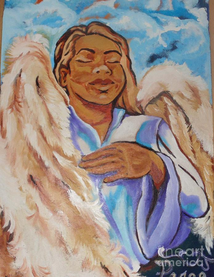 Angel Of Peace Painting