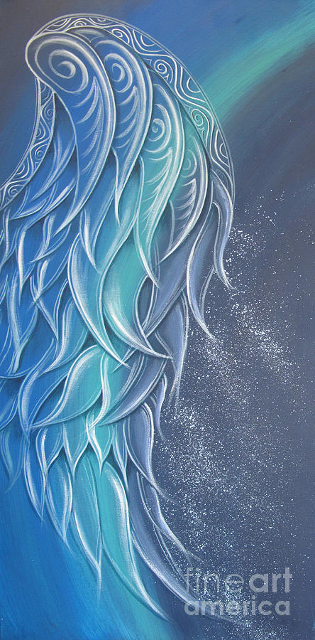Angel Wing Painting by Reina Cottier