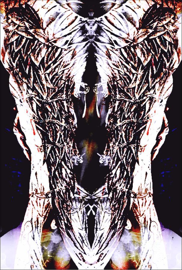 Angel Wings Mixed Media