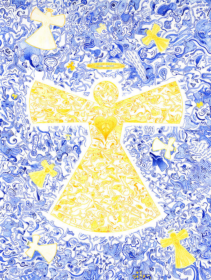 Angeli Di Leo Drawing  - Angeli Di Leo Fine Art Print