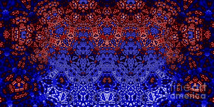 Angels And Demons Digital Art  - Angels And Demons Fine Art Print