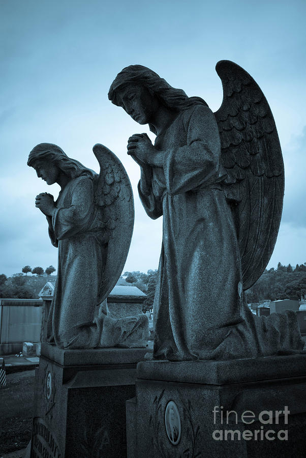 Angels In Prayer Photograph