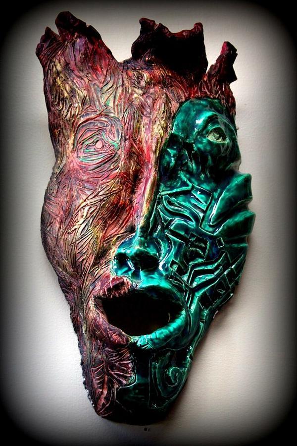 Ceramic Ceramic Art - Angeni- Spirit by Wynter Peguero