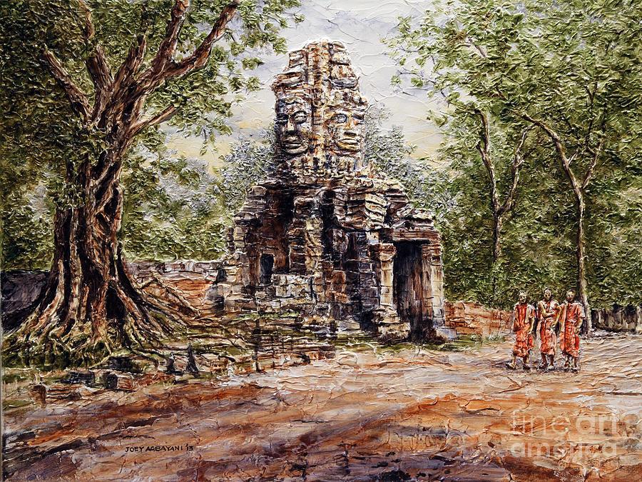 Angkor Wat Canvas Painting