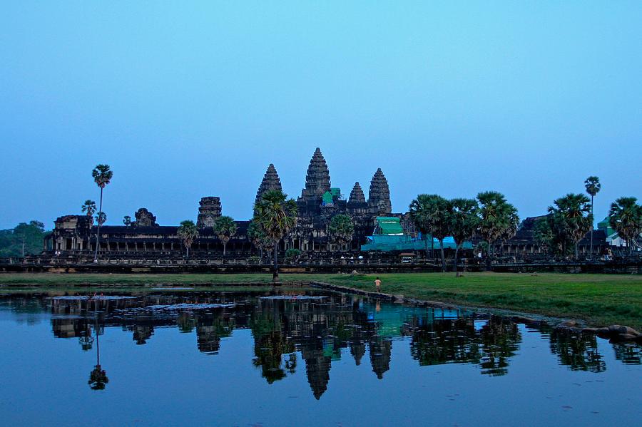 Angkor Wat Reflection Photograph
