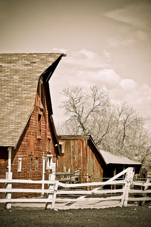 Angle Top Barn Photograph
