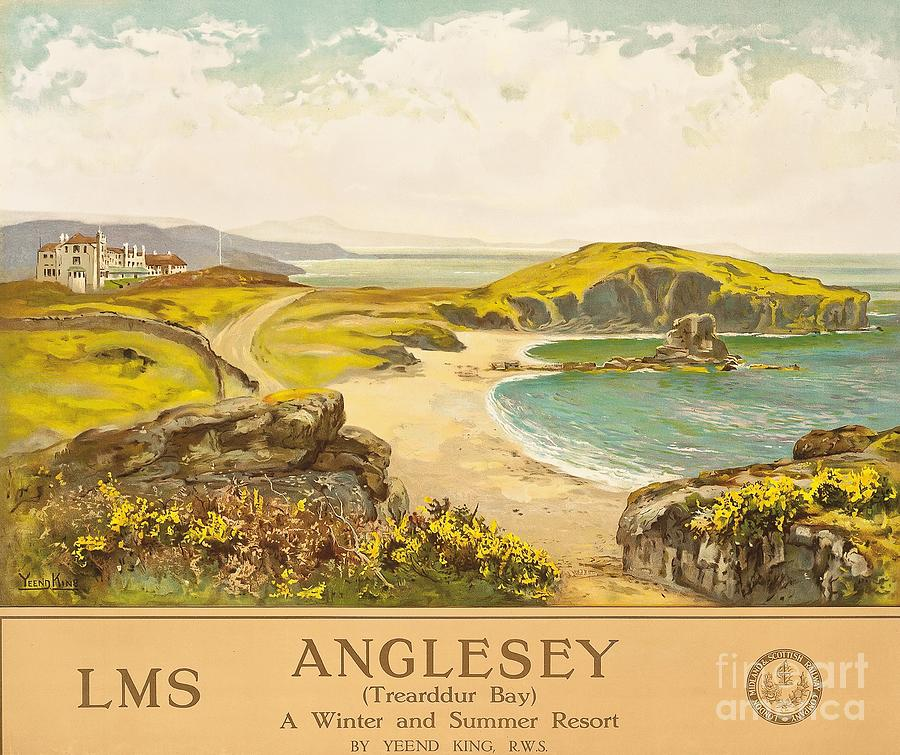 Anglesey Painting - Anglesey by Henry John Yeend King