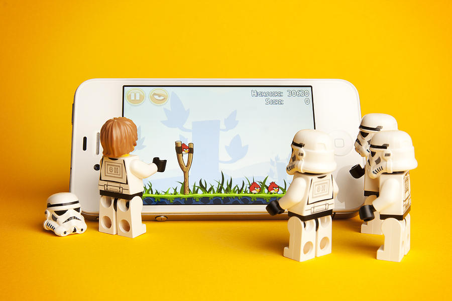 Angry Storm Troopers Photograph