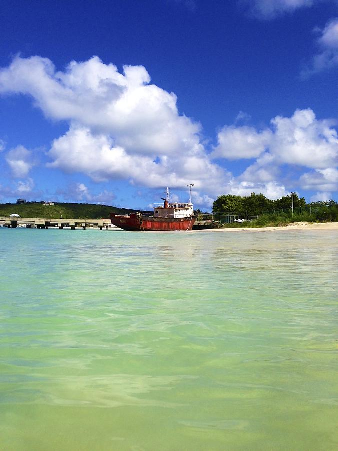 Anguilla Mr. Teds Boat Photograph