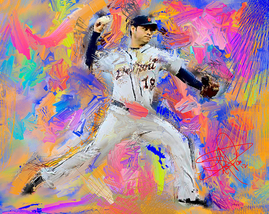Anibal Sanchez Painting